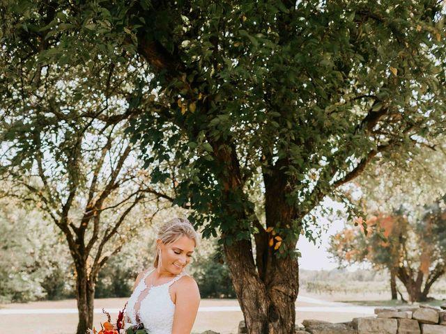 Stephanie and Rene's Wedding in Winfield, Kansas 223