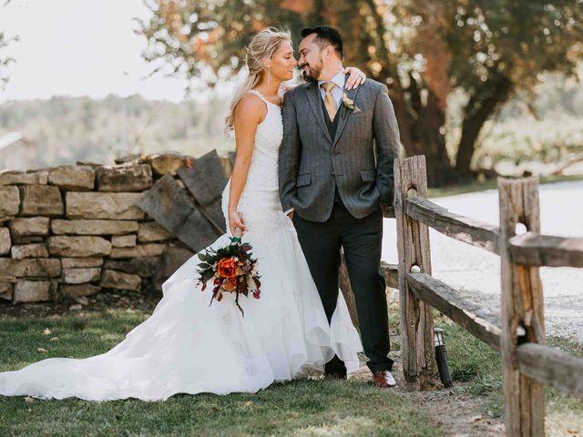 Stephanie and Rene's Wedding in Winfield, Kansas 228