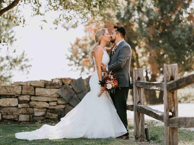 Stephanie and Rene's Wedding in Winfield, Kansas 230