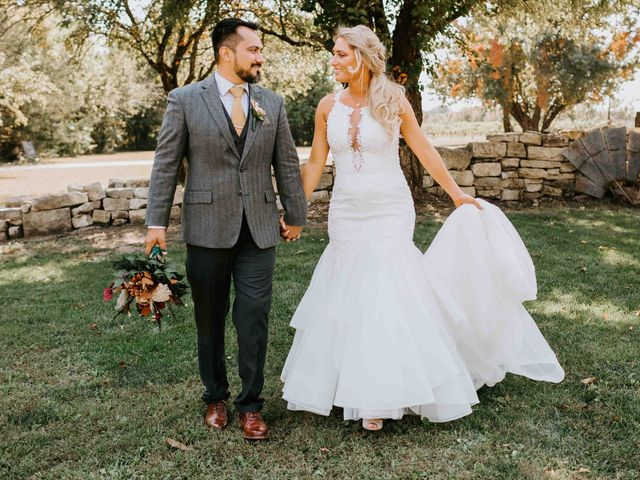 Stephanie and Rene's Wedding in Winfield, Kansas 233