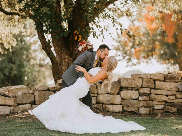 Stephanie and Rene's Wedding in Winfield, Kansas 234