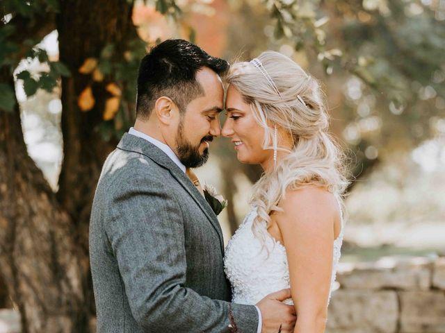 Stephanie and Rene's Wedding in Winfield, Kansas 238