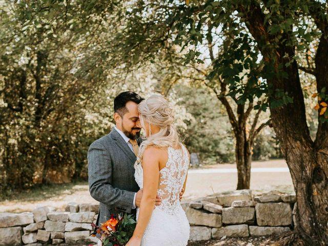 Stephanie and Rene's Wedding in Winfield, Kansas 239