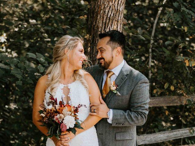 Stephanie and Rene's Wedding in Winfield, Kansas 242
