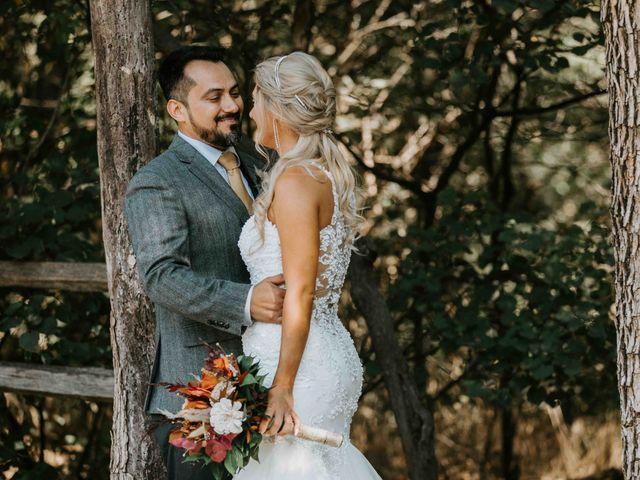 Stephanie and Rene's Wedding in Winfield, Kansas 248