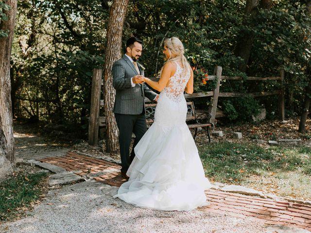 Stephanie and Rene's Wedding in Winfield, Kansas 262