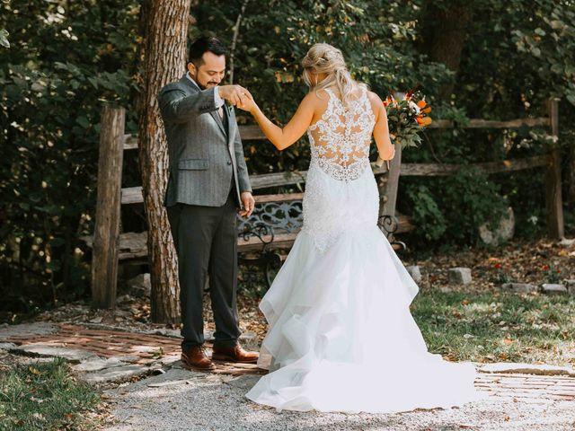 Stephanie and Rene's Wedding in Winfield, Kansas 264