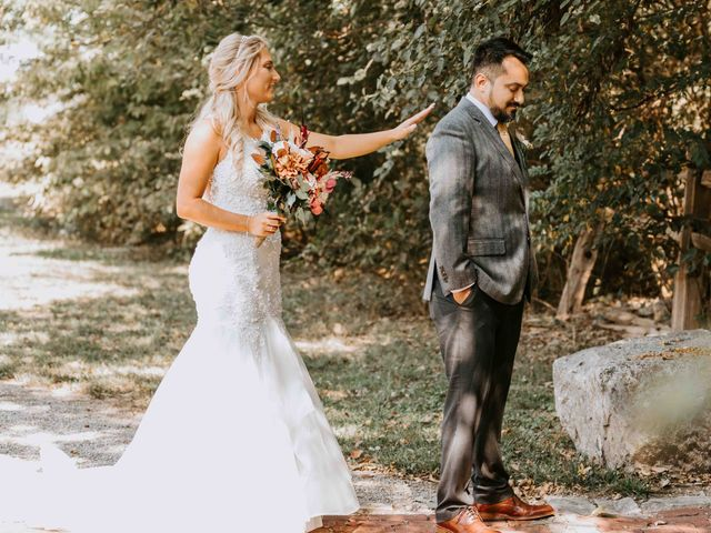 Stephanie and Rene's Wedding in Winfield, Kansas 268