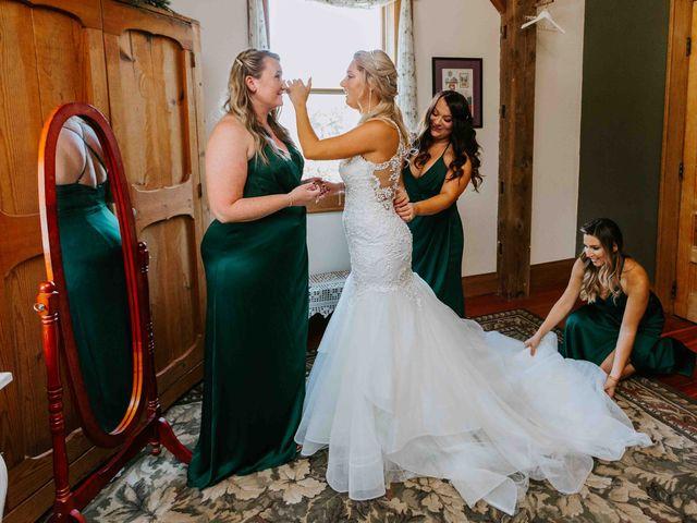 Stephanie and Rene's Wedding in Winfield, Kansas 301