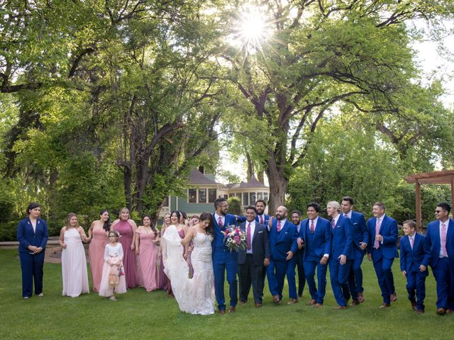 Sarah and Devin's Wedding in Laporte, Colorado 6