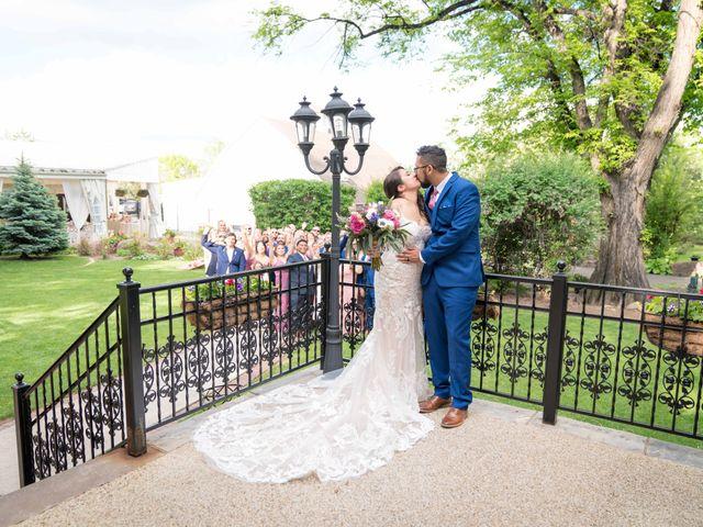 Sarah and Devin's Wedding in Laporte, Colorado 8