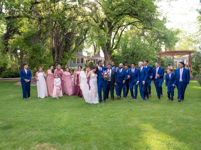 Sarah and Devin's Wedding in Laporte, Colorado 9