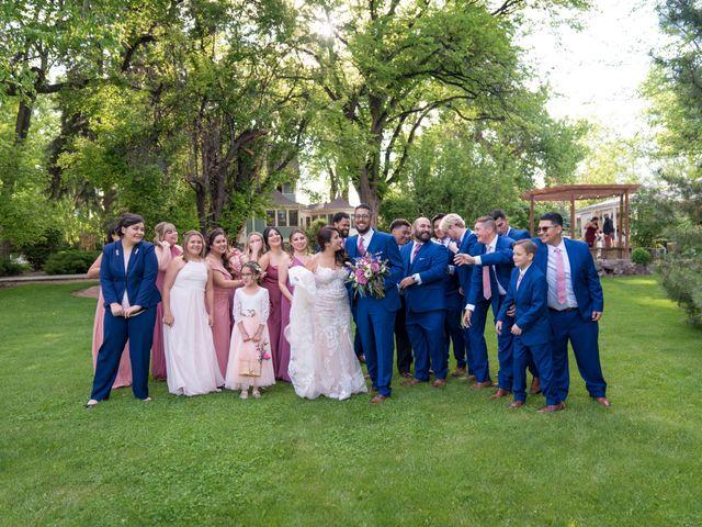 Sarah and Devin's Wedding in Laporte, Colorado 11