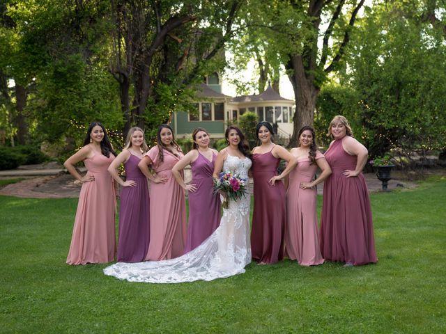 Sarah and Devin's Wedding in Laporte, Colorado 12