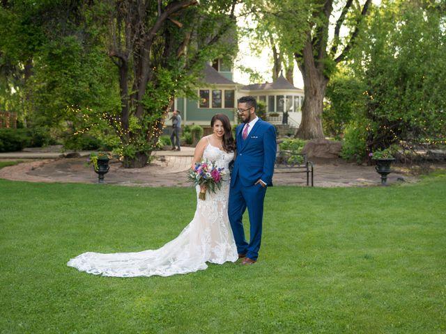 Sarah and Devin's Wedding in Laporte, Colorado 17