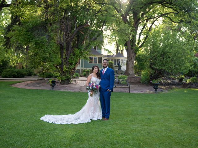 Sarah and Devin's Wedding in Laporte, Colorado 18
