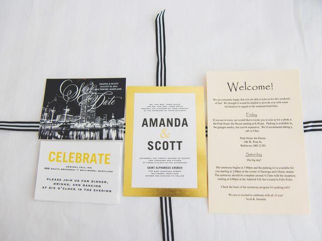Amanda and Scott's Wedding in Baltimore, Maryland 1