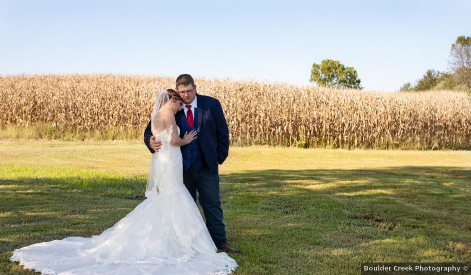 Dustin and Hayley's Wedding in Marion, Illinois