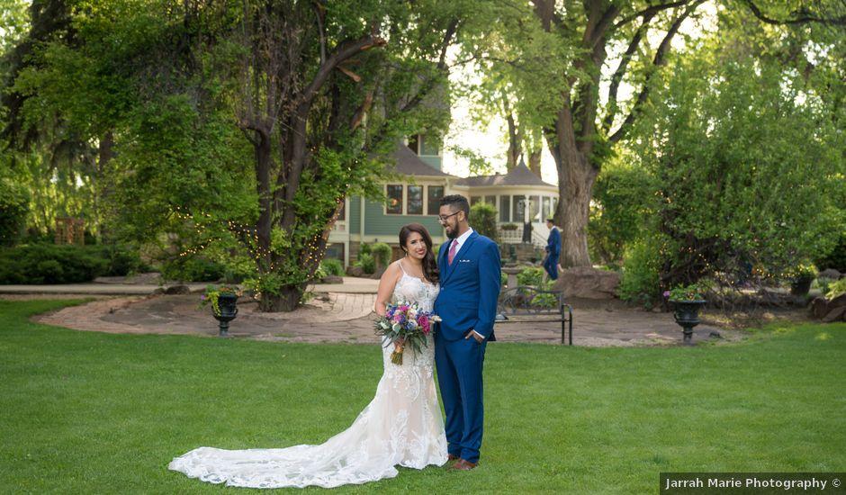 Sarah and Devin's Wedding in Laporte, Colorado