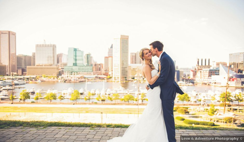 Amanda and Scott's Wedding in Baltimore, Maryland