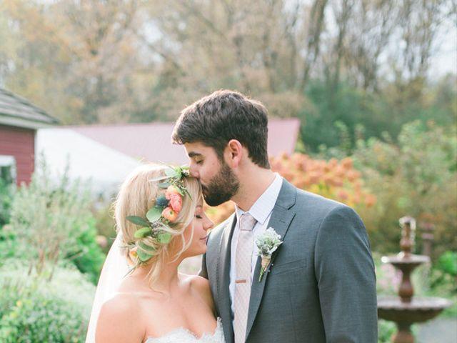 The wedding of Brad and Rachel