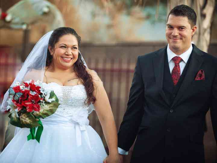 The wedding of Yolanda and Bobby