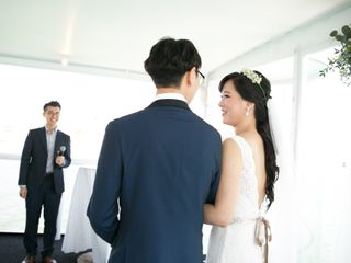 The wedding of Seung and Henry
