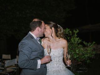 The wedding of Margarita and David