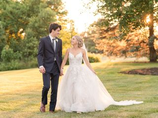 The wedding of Abby and Ben