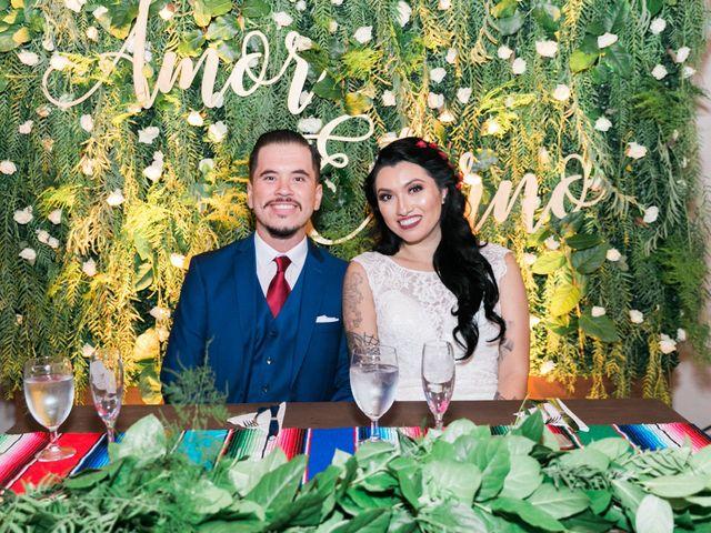 The wedding of Alex and Rachel