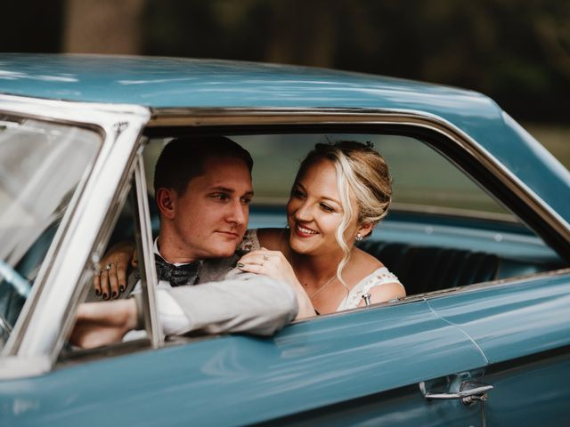 The wedding of Emily and Collin
