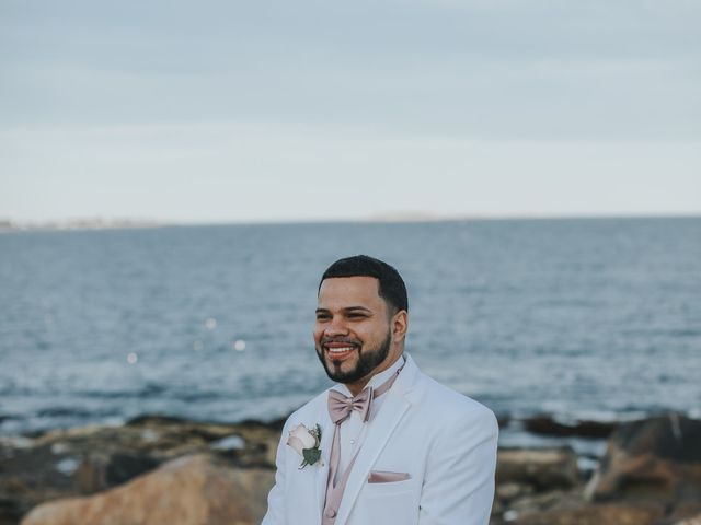 Alex and Neisha's Wedding in Gloucester, Massachusetts 14