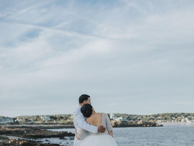 Alex and Neisha's Wedding in Gloucester, Massachusetts 18