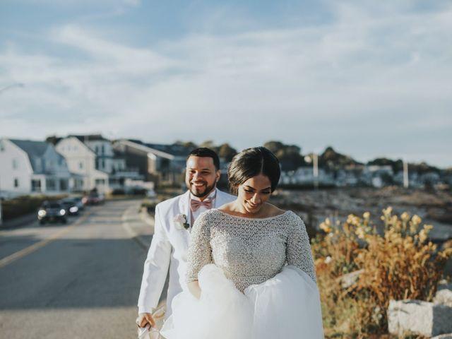 Alex and Neisha's Wedding in Gloucester, Massachusetts 19