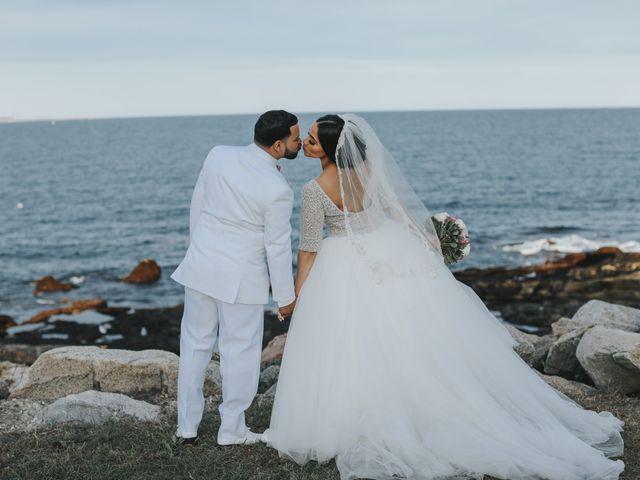 The wedding of Neisha and Alex
