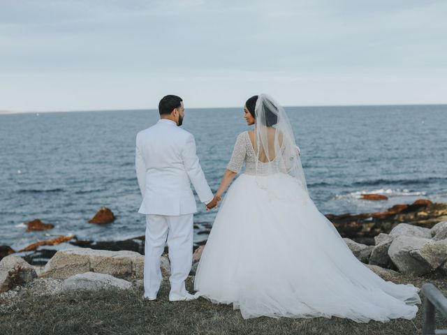 Alex and Neisha's Wedding in Gloucester, Massachusetts 22