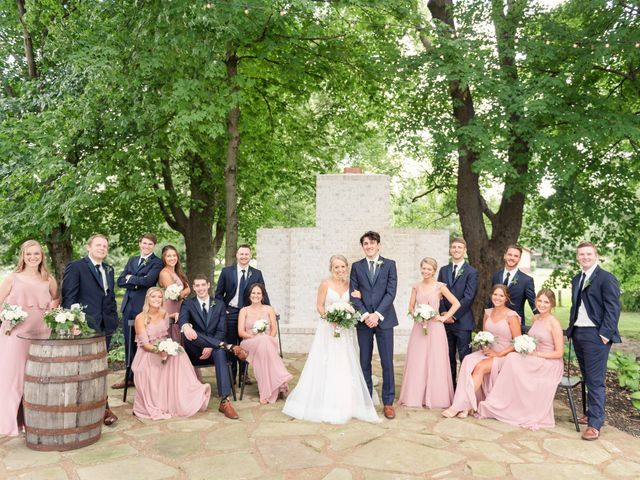 Ben and Abby's Wedding in Noblesville, Indiana 26