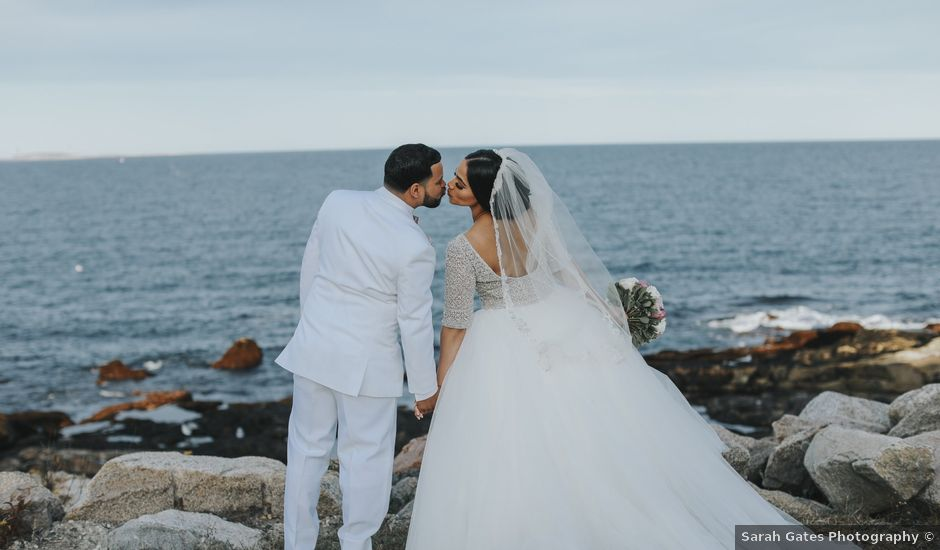 Alex and Neisha's Wedding in Gloucester, Massachusetts