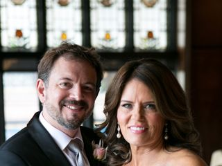 The wedding of Bridget and Mark 1