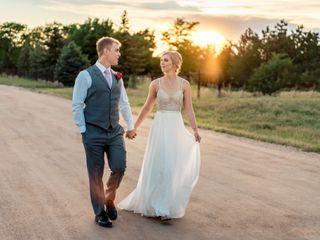 The wedding of Jamie and Scott
