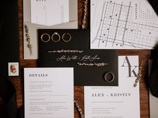 The wedding of Kristin and Alex 1
