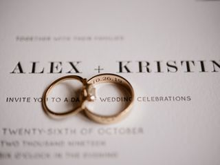 The wedding of Kristin and Alex 2