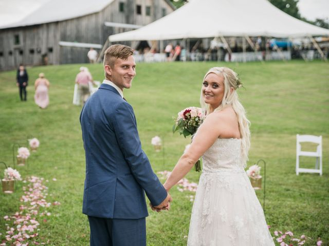 The wedding of Kaitlin and Andrew