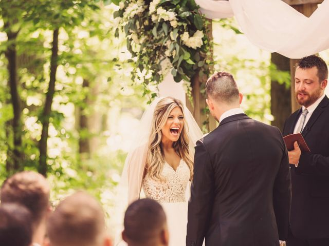 Taylor and Maxwell's Wedding in Marcellus, Michigan 45