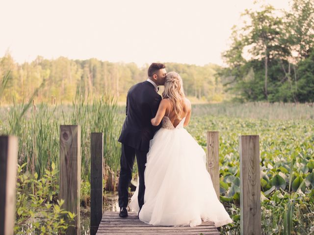 Taylor and Maxwell's Wedding in Marcellus, Michigan 121