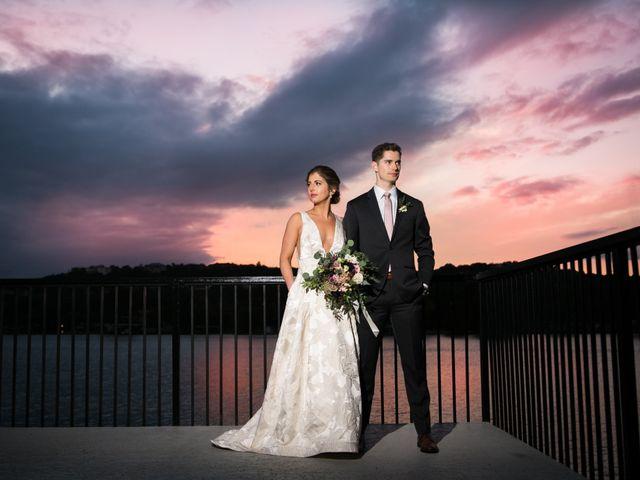 The wedding of Corey and Josh