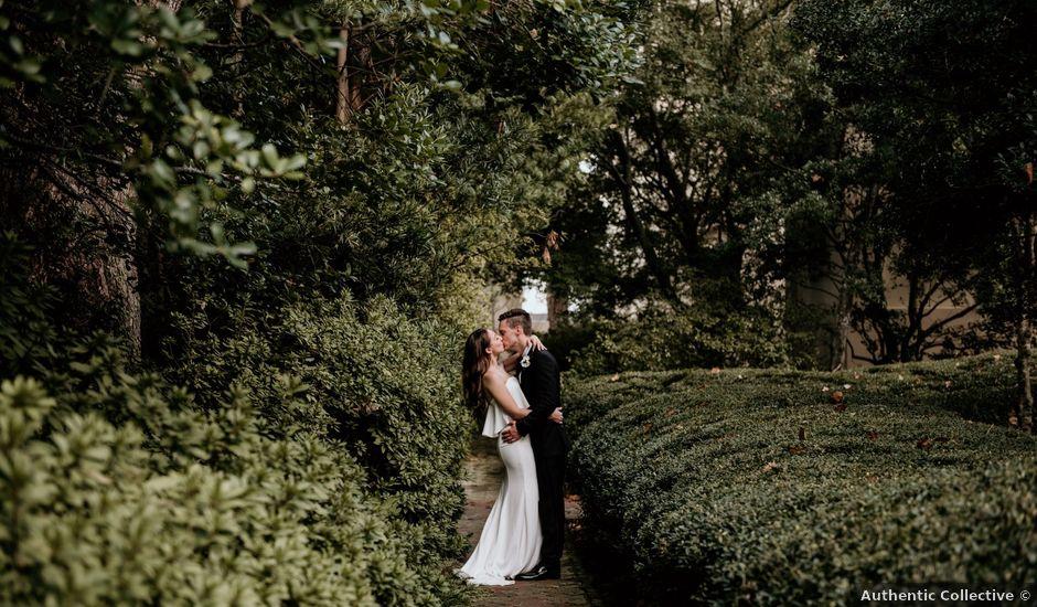 Alex and Kristin's Wedding in Savannah, Georgia