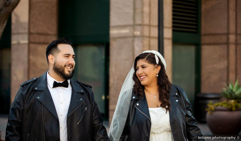 Sarah and Anthony's Wedding in Anaheim, California
