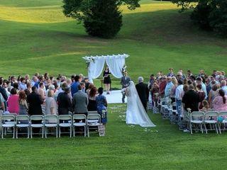 The wedding of Jodie Wilson and Zach Wilson  3