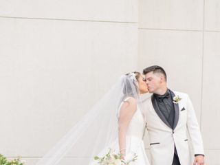 The wedding of Makenzie and Ross